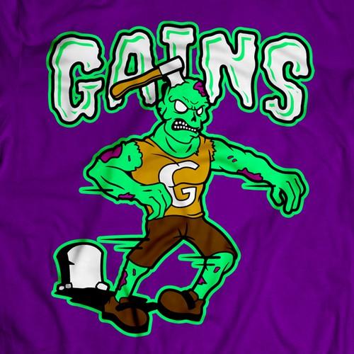 Gains T-shirt Design