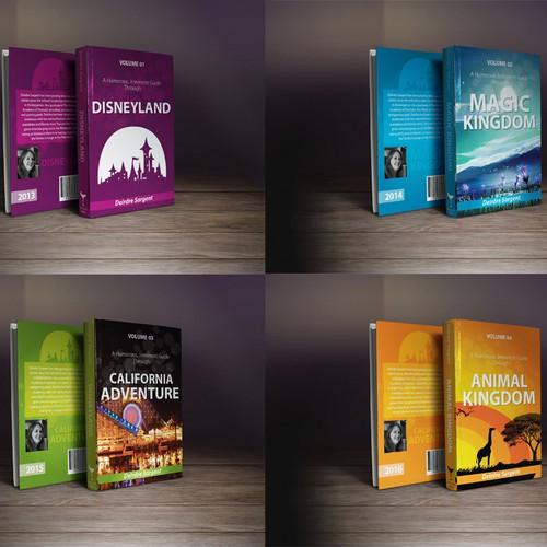 Disney Re-branding Books set