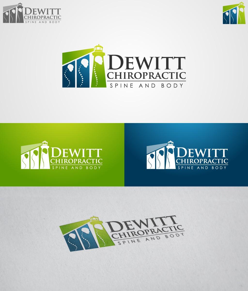 DeWitt Chiropractic   Spine & Body needs a new logo
