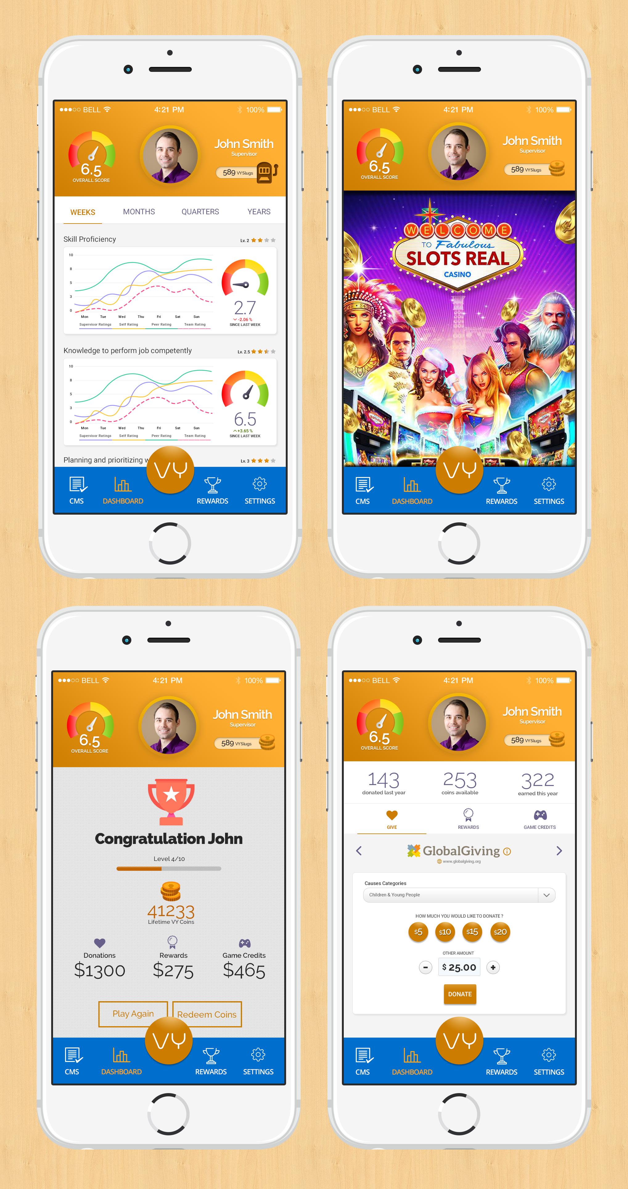 Mobile Gamification Platform! Fun & Professional!