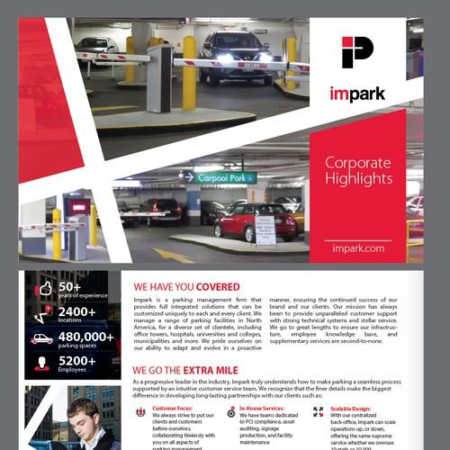 Impark brochure design