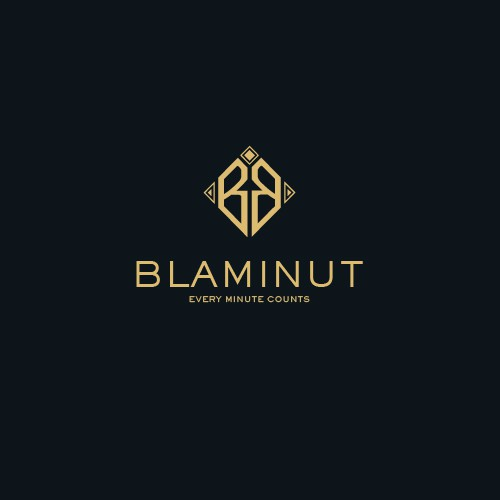 Classy-Minimalist Logo for Blaminut Watch Co.