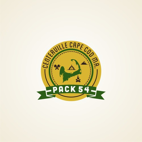 logo for Cub Scout Pack 54 Centerville Cape Cod MA