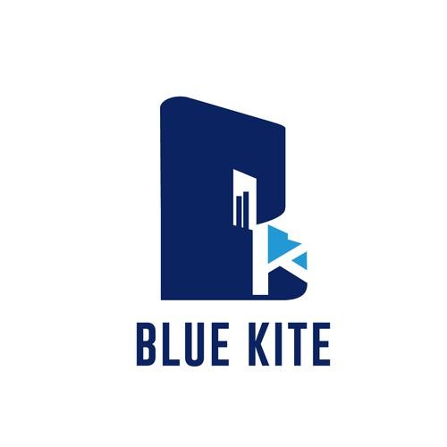 participan blue kite