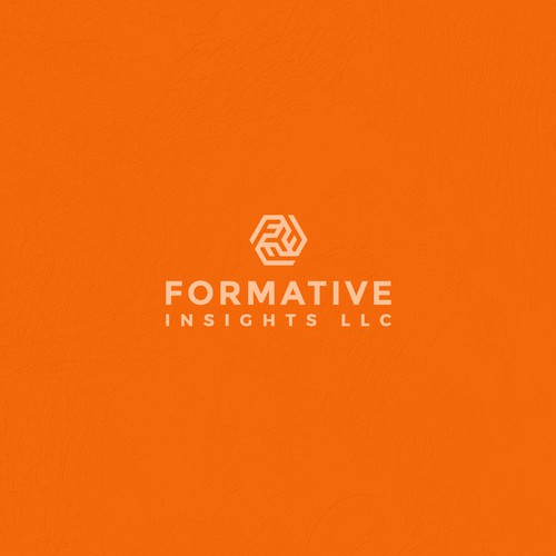 Design a logo for Creative Insights firm, modern and playful