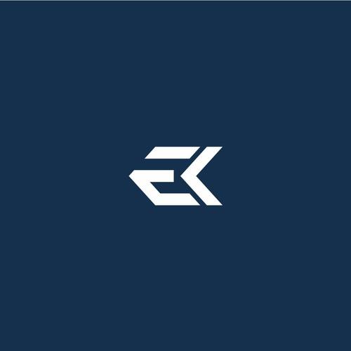 Logo EK letters