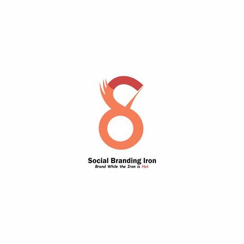 social Branding Iron