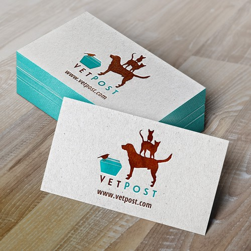 Create a fun logo for a national veterinary/pet e-commerce site for VetPost