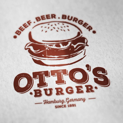 Logo Project | Otto's Burger