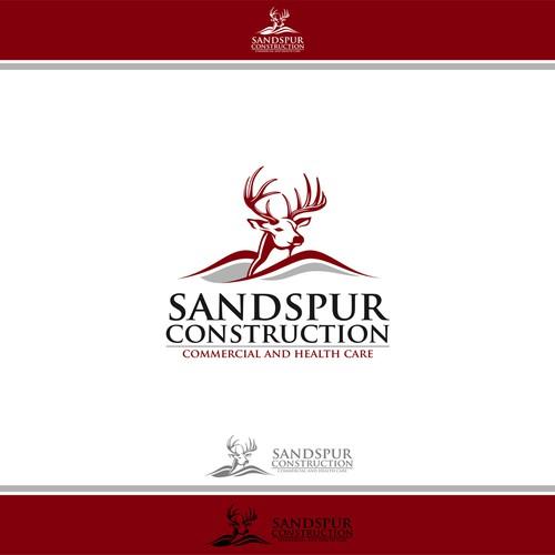 sandspur construction logo