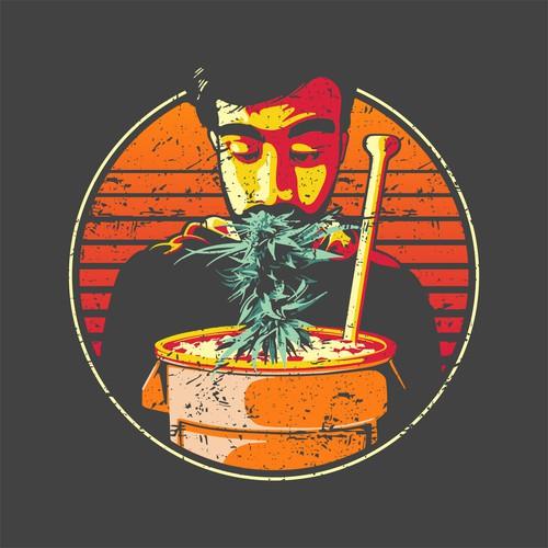 Cannabis T-shirt Design