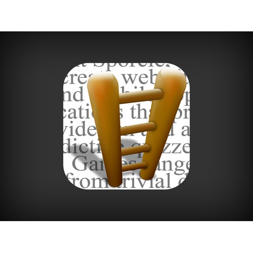 iPhone Application Icon - Word Ladder