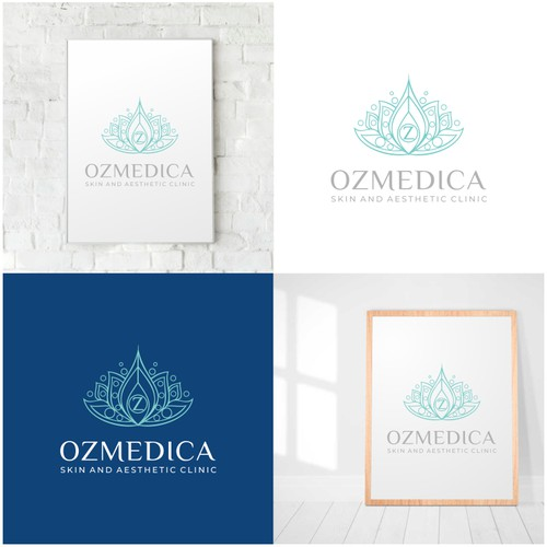 Ozmedica Skin and Aesthetic Clinic Logo Design