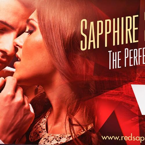 Billboard for Red Saphir Mens Perfume