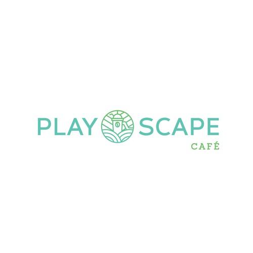 Logo Design for Cafe and Children Playground