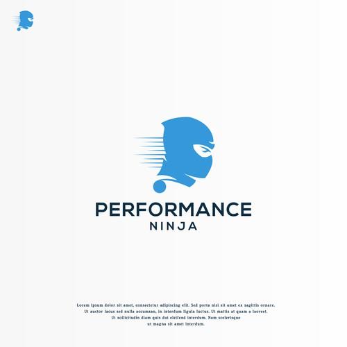 Logo design for PerformanceNinja - high level business consulting