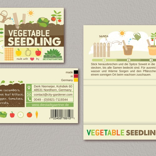 Packaging for gardening product