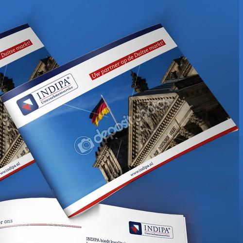 Brochure for a Dutch company