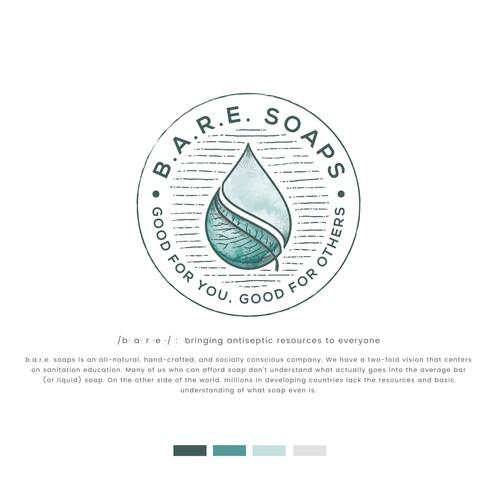 logo concept for soap company
