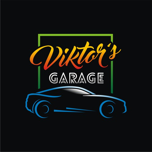 victors garage logo