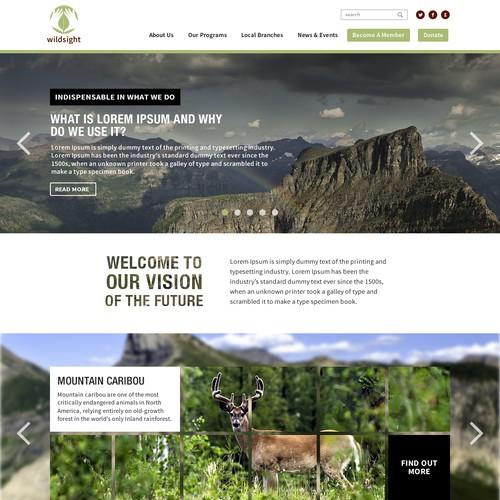 Seeking WILD web (re)design