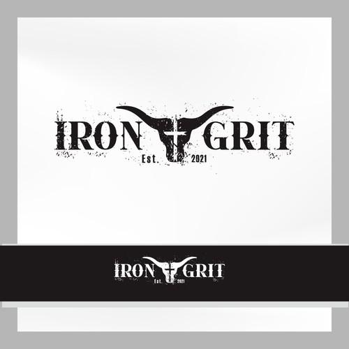 "Iron great ""have logo cool and elagant head buffalo skull"""""