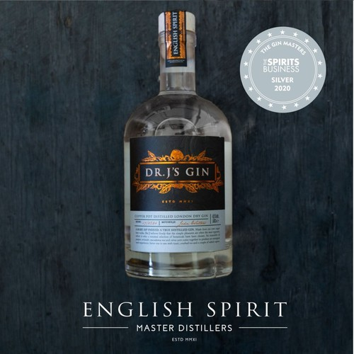 English Spirits Dr J's Gin