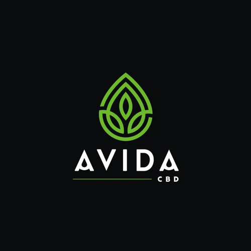 Modern one-line Logo for Avida CBD