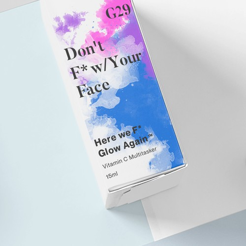 Packaging for a skin care line