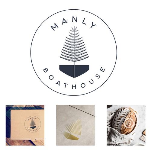 Branding modern seaside restaurant