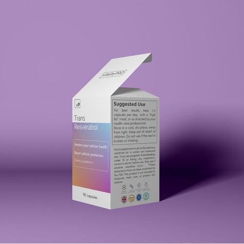 Supplement box design