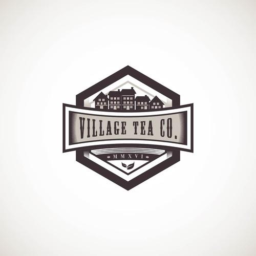Proposed Logo Design for Village Tea Co.