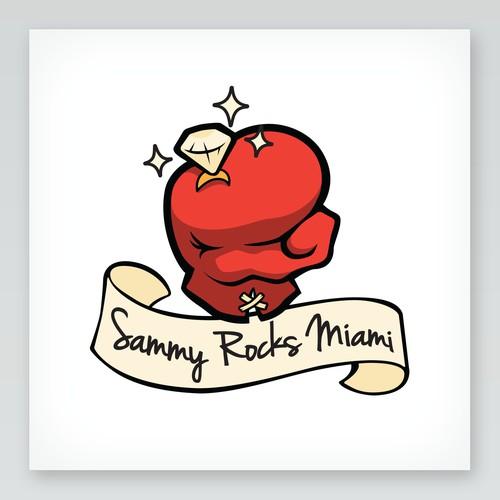 Bridal party logo for Sammy & Rocky