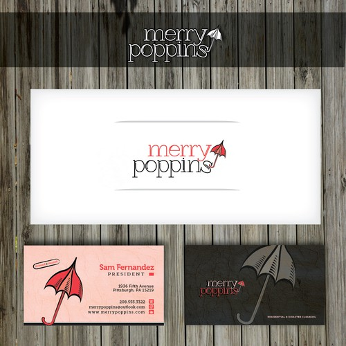 Merry Poppins needs a new logo and card! Come have some fun