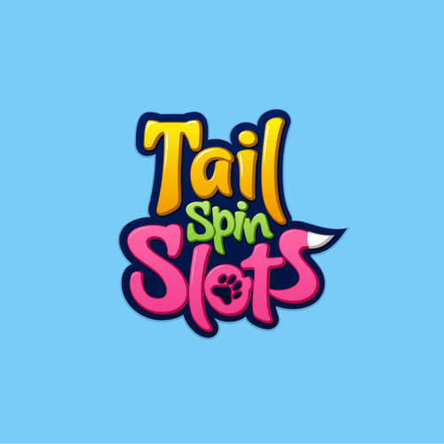 Fun, Game logo for Tail Spin Slots