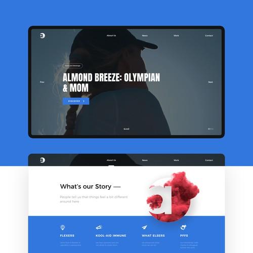 Access Brand Communications website