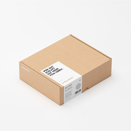 Box Packaging Design Concept