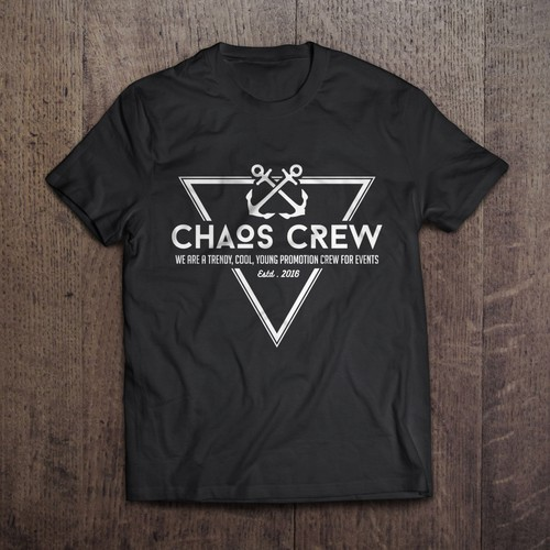 "HIPPSTER LOGO FOR ""CHAOS CREW"" NEEDED"