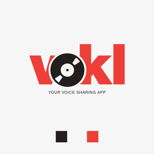 Logo concept for voice sharing app