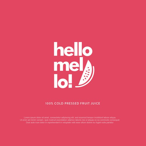Logo for hellomello!