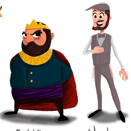 The lost Princes.
