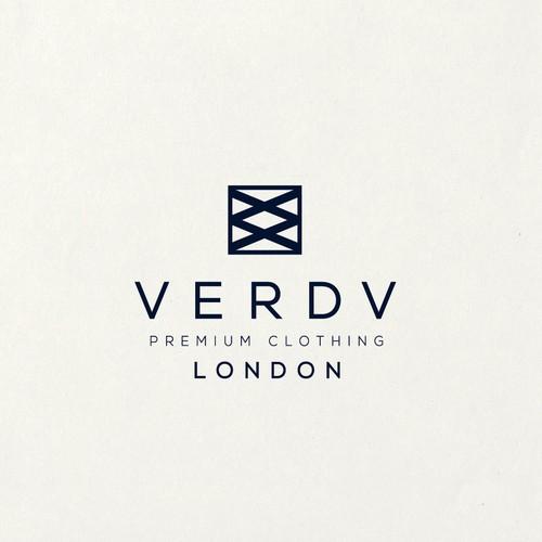 Logo for premium clothing brand