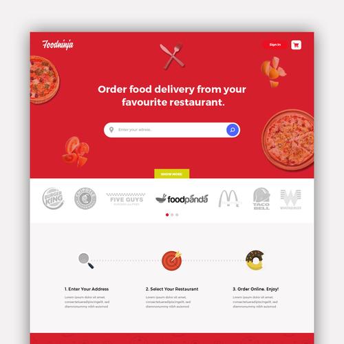 Food Ninja Homepage