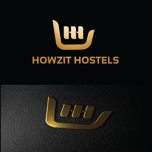 Mordern logo for HOWZIT HOSTELS