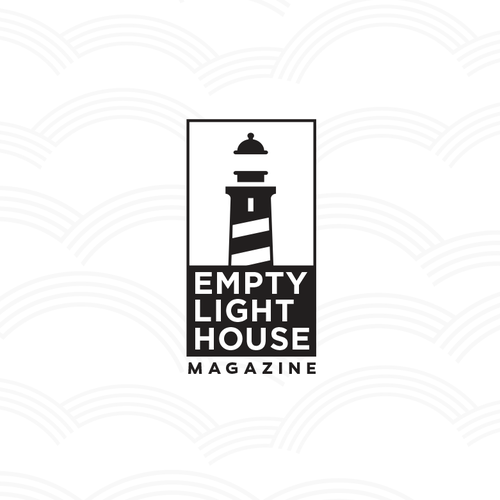 logo concept for Empty Lighthouse Magazine