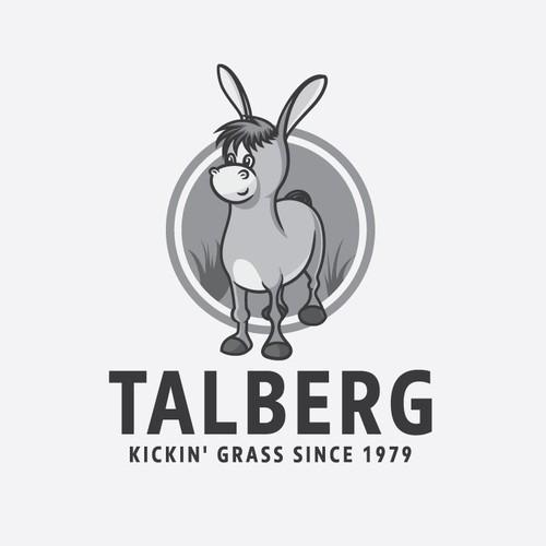 Talberg logo design concept