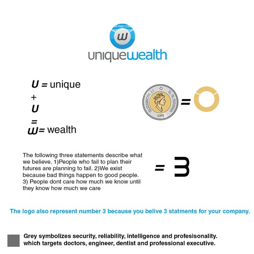New logo wanted for Unique Wealth