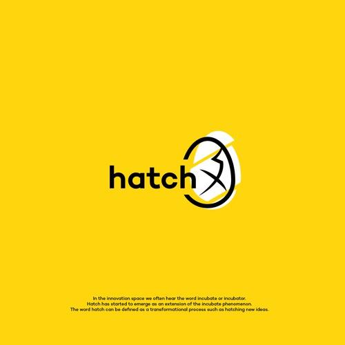 Hatch X logo Design