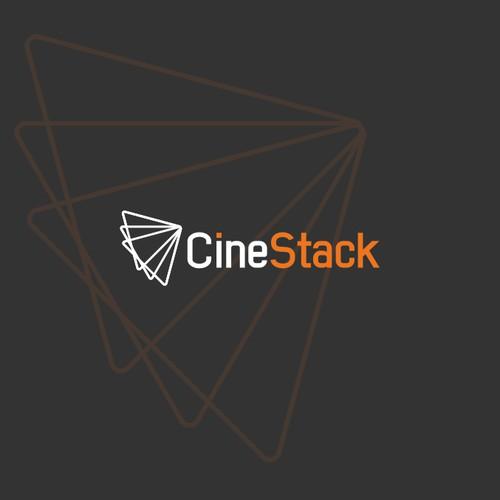Logo & Branding Identity Concept for CineStack