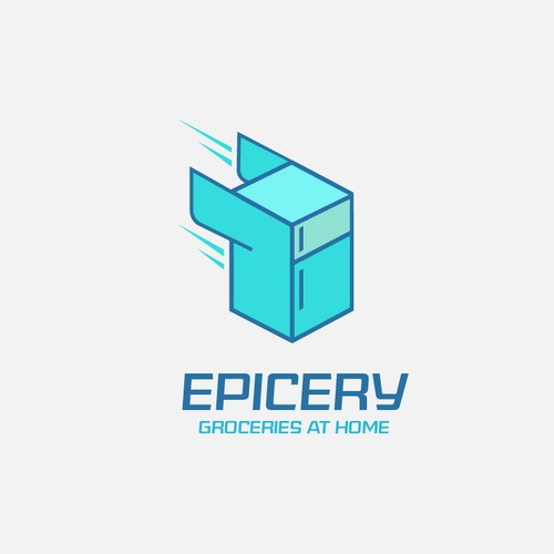 Logo concept for Groceries at home(in 30 minutes)